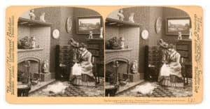 Stereocard Used in a Stereoscope - SwivelBlog